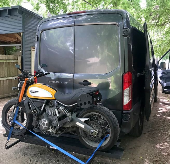 Smallest Motorhome Rental In Texas Outer Motorcycle Carrier