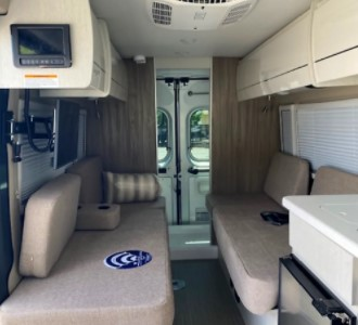 Smallest Motorhome available to rent in Virginia inner area