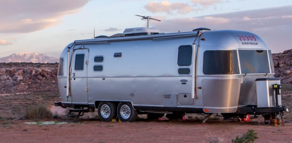 Airstream smart trailer