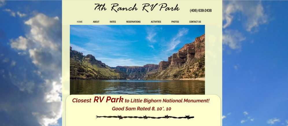 The Website of 7th Ranch RV Park
